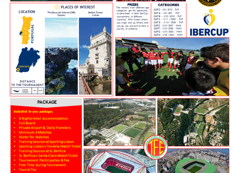 Iber Cup - Why not combine a holiday with a soccer tournament