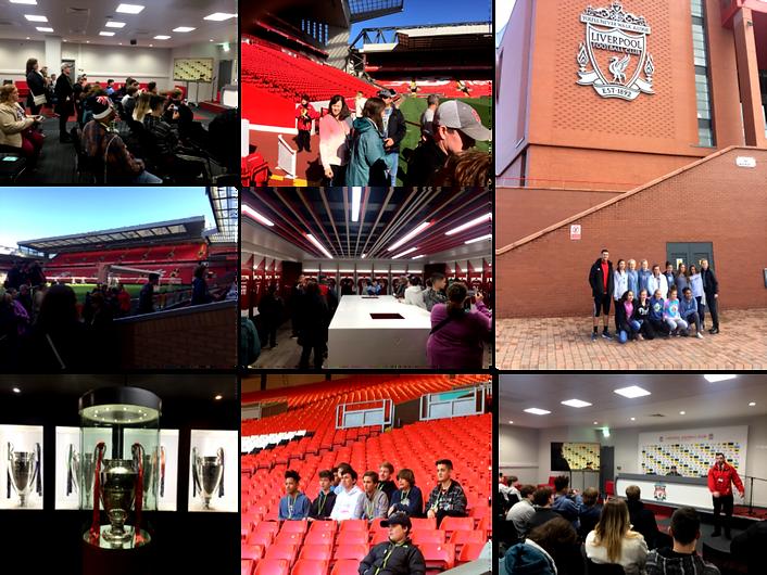visit Liverpool FC's Anfield Stadium | Soccer Tour | #soccer | #soccertour