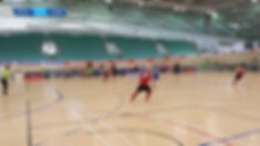 futsal in the National Cycling Centre