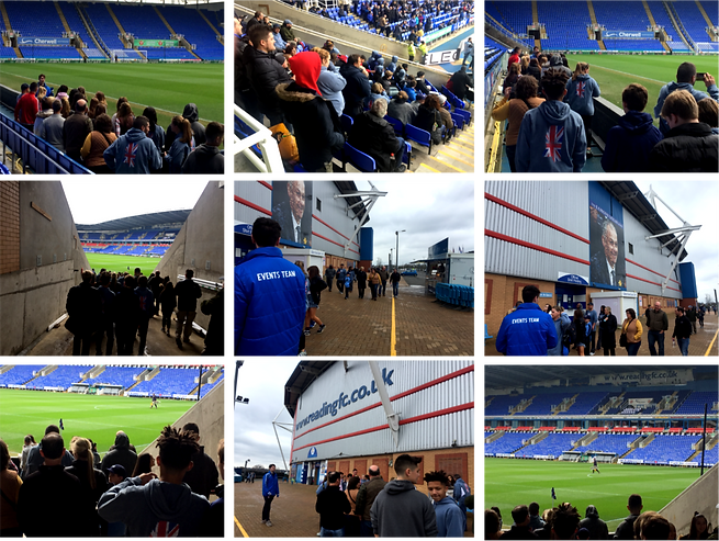 Visit to the Madejski Stadium to watch Reading FC v Leeds United FC | Soccer Tour | #soccer | #soccertour