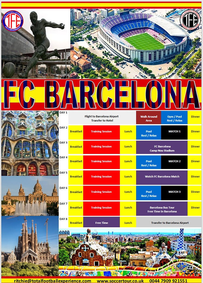Pro Club Experience at FC Barcelona