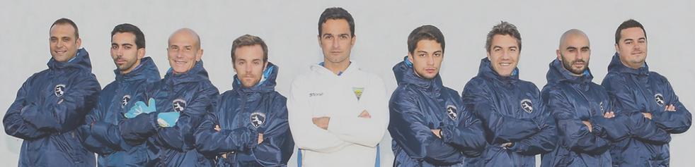 The coaching team at Estoril Praia Elite Program
