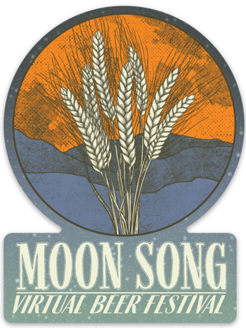 Extra Moon Song Sticker