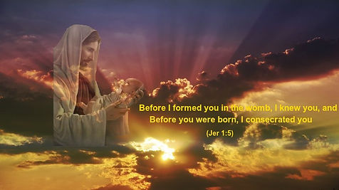 Before I formed you in the womb_