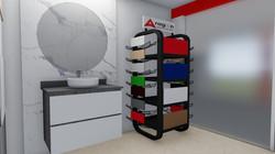 Diseño de interiores (baño)