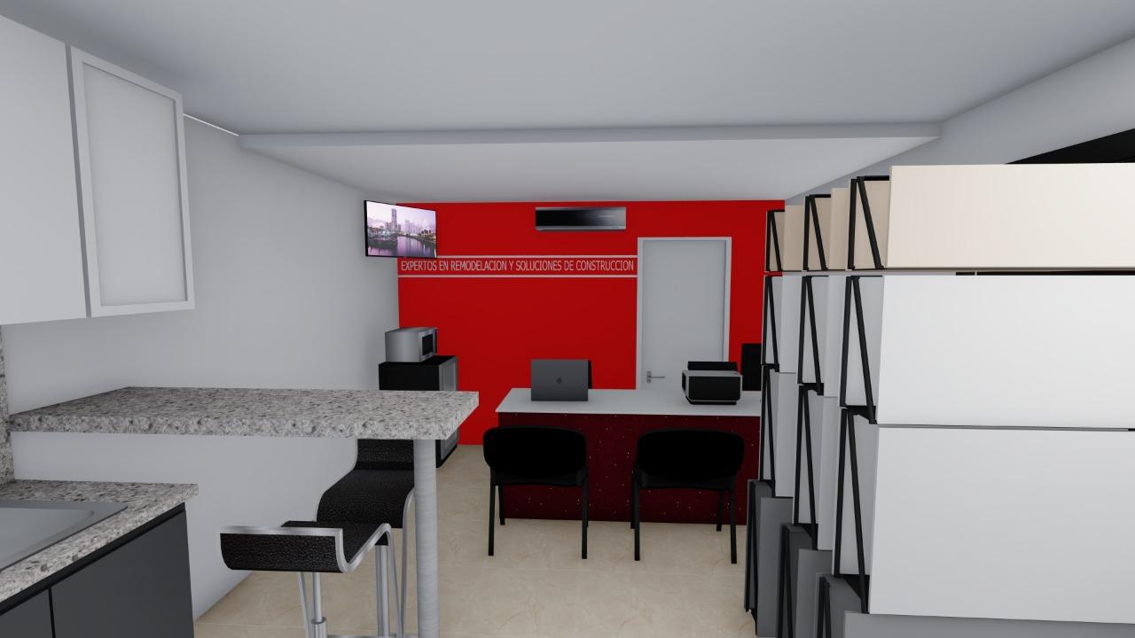 Diseño de interiores (oficina)