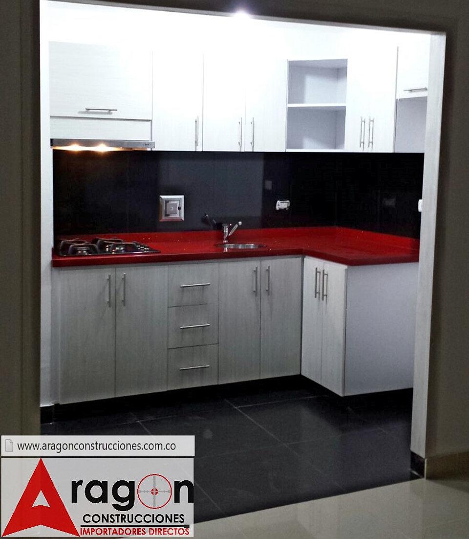 Aragon remodelaciones de casas en cali for Cocinas bogota precios