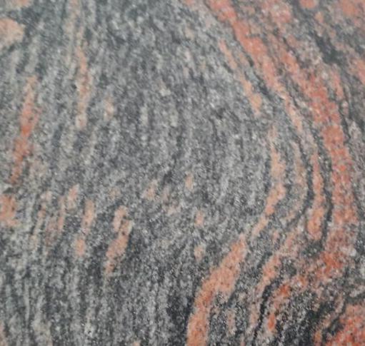 granito negro salmon