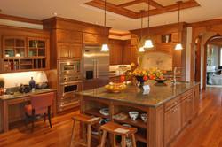 cocina en madera cedro