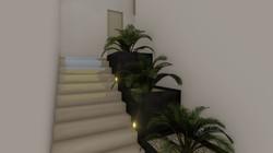 Diseño de interiores (escalera))