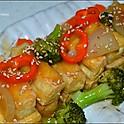 75 Tofu gebraten (fried Tofu)