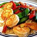 61 Crevetten gebraten (fried shrimps)