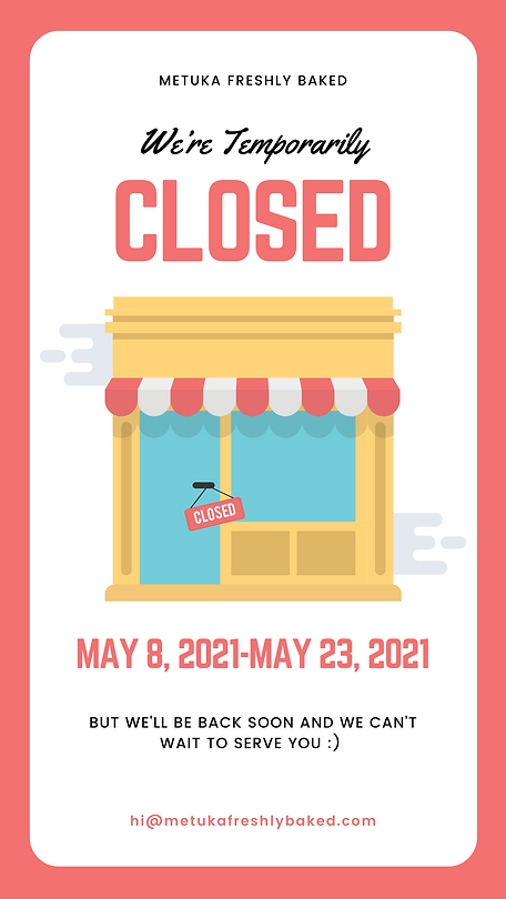 Store Closed Announcement Instagram Stor