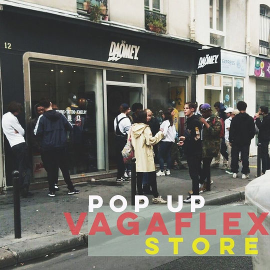 Pop Up Store Vagaflex Vintage