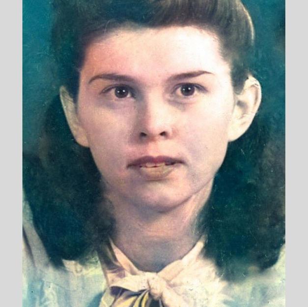 My mother Frances Elizabeth Sheppard- St. Hill
