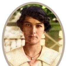 My grandmother Esmée St.Hill-Lobo