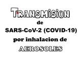 Transmisión de SARS-CoV-2 por inhalación de aerosoles: ¿cómo podemos reducir el riesgo de contagio?