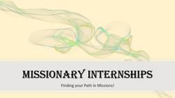 missionary internship slide