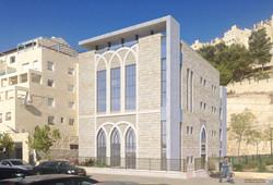בית כנסת בשכונת הר חומה ירושלילים