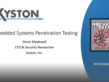 Embedded Systems Penetration Testing