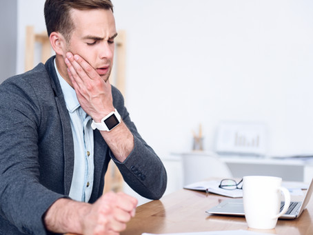 How reduce stress on your jaw ?
