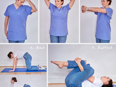 WORK FROM HOME : 5 GOOD STRETCHES