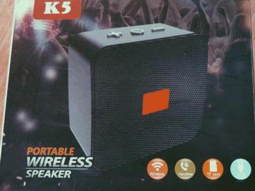 K5 Bluetooth Speaker Wireless Black