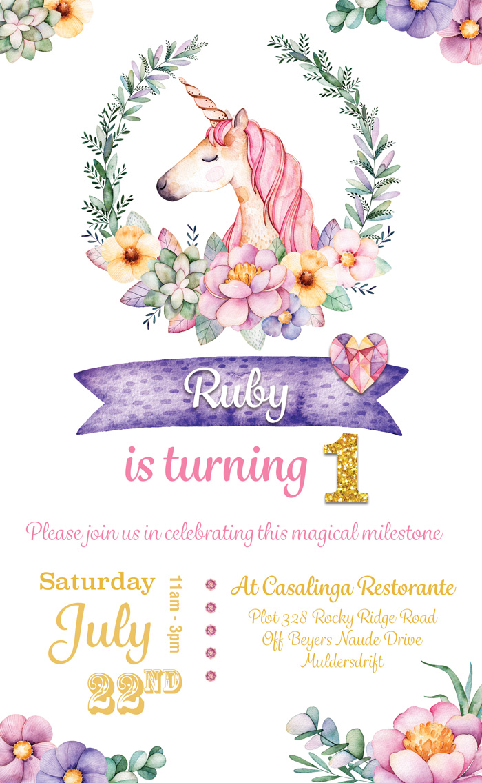 Birthday Invite 1
