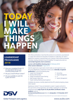 DSV Learnership Programme