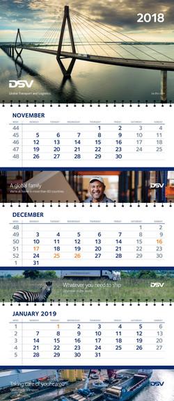 DSV Wall Calendar