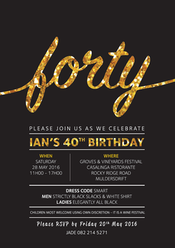 Birthday Invite 40