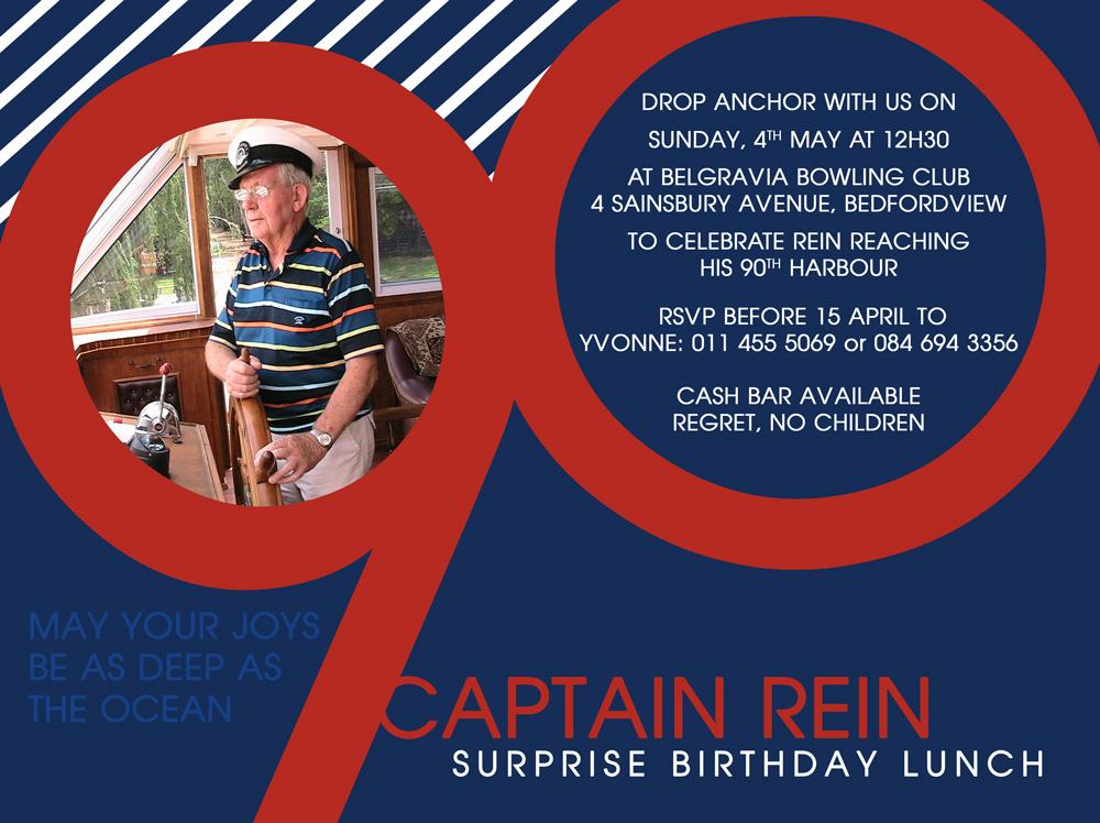 Birthday Invite 90