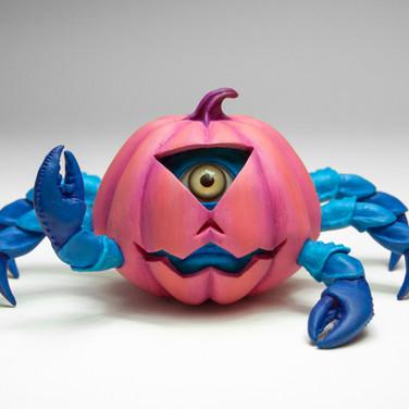"""""""Pumpkin Crab Cyclops"""" 2016"""