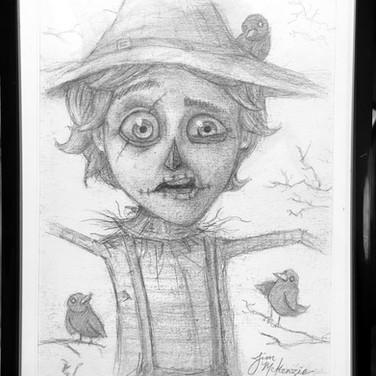 """""""The Scarecrow - Study"""" 2014"""