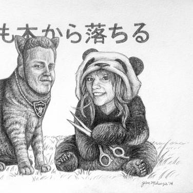 """""""Cat and Panda"""" 2014"""