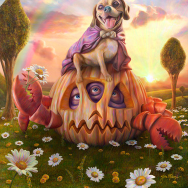 """"""" Pumpkin Crab and Puggle King"""" 2012"""