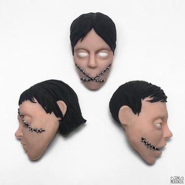 """""""Head Sketches"""" 2017"""