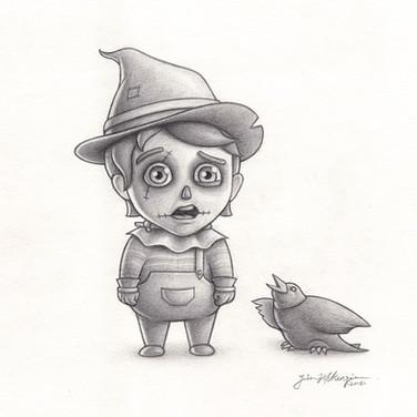 """Baby Scarecrow"" 2018"