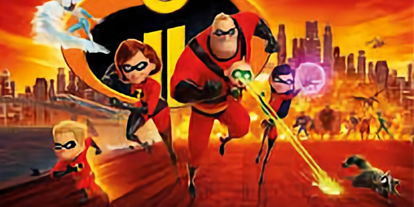 The Incredibles 2 Fundraiser