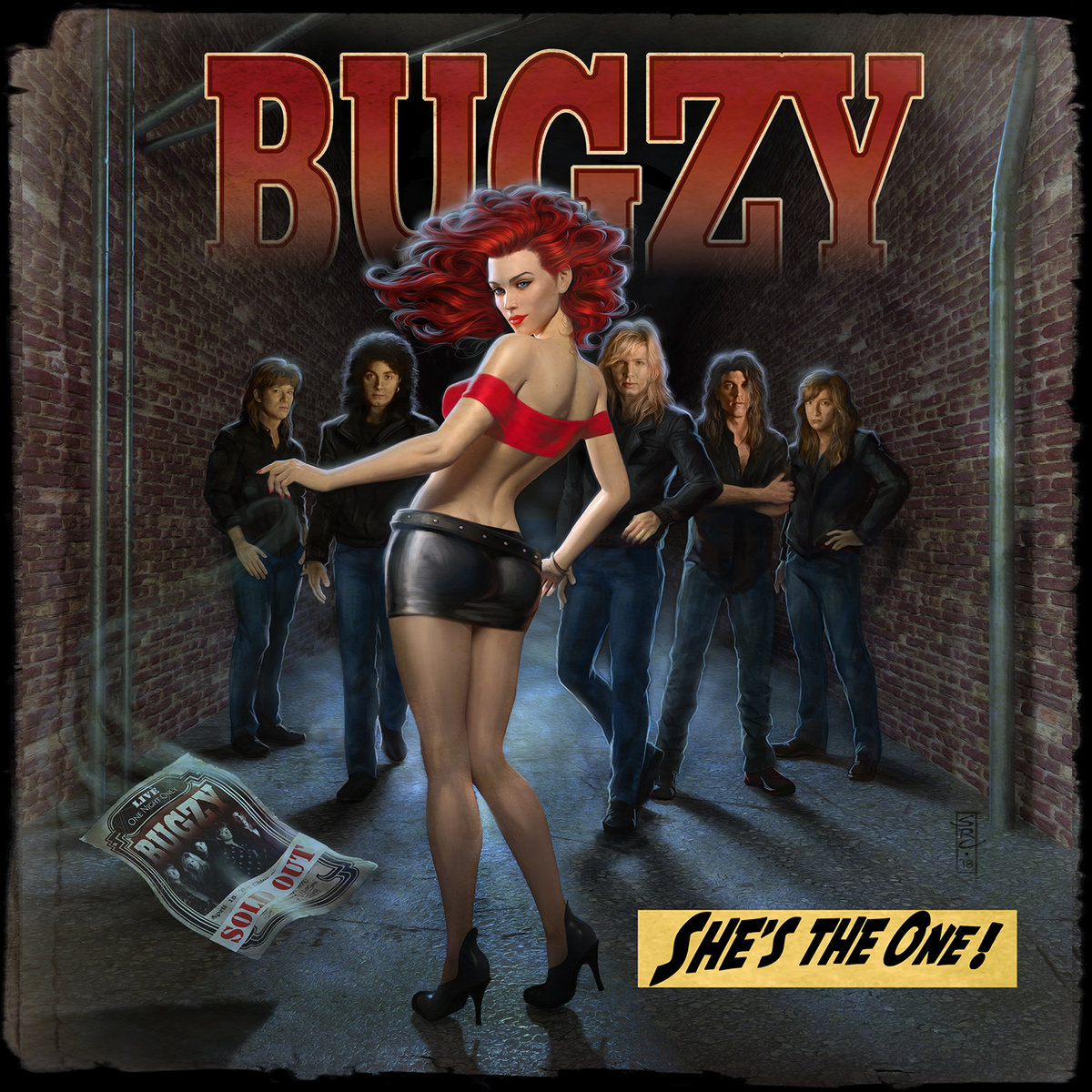 """Lucky Day"" on Bugzy album"