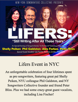 Songwriting Lifers Event in NYC