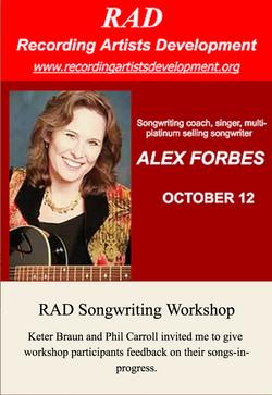 RAD Songwriting Workshop