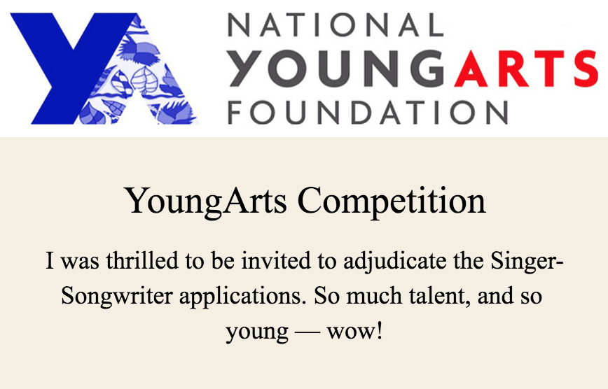 YoungArts Foundation Competition