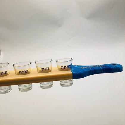 Kiddush Cup Shot Glass Set Paddle Custom