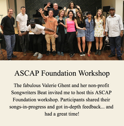 ASCAP Foundation-Songwriters Beat Workshop