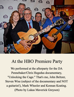 At the HBO Premiere Party