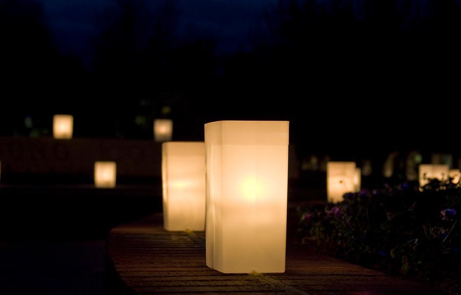 bigstock-Luminaries-At-Night-4601371