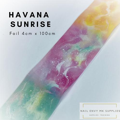 Foil - Havana Sunrise