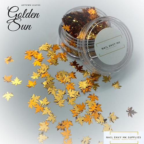 Golden Sun Autumn Leaves