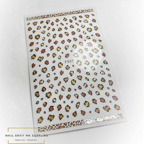Leopard Spot Stickers